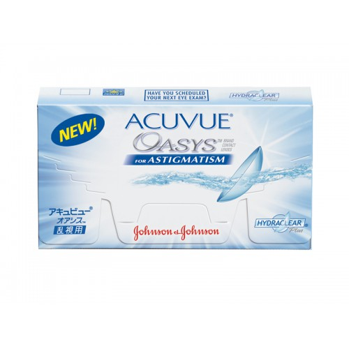 Acuvue OASYS for Astigmatism with HYDRACLEAR (6 шт)